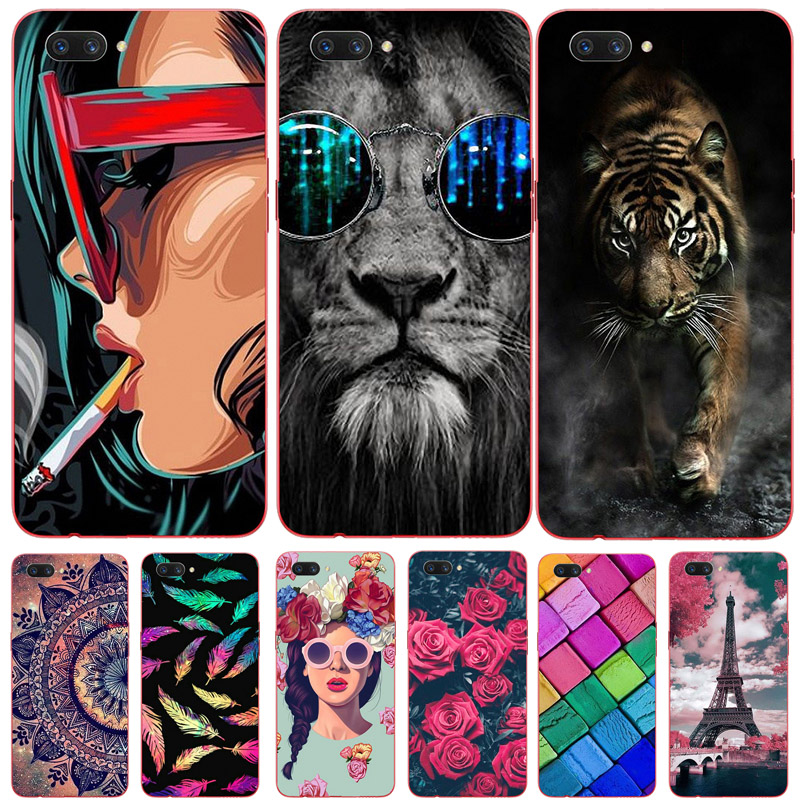 For Oppo Realme C1 Case Soft TPU Silicone Cover Mandala Cartoon Phone Case For Oppo A3S A3 S Oppo A5 A5S AX5S For Realme C1 C 1