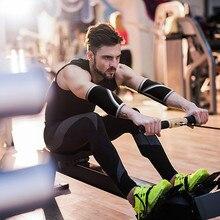 лучшая цена Elbow Sleeves 7MM  for weightlifting, powerlifting, wrestling, strongman, bench press, cross fitness,  . Compression sleeves