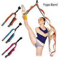 Elastyczność drzwi rozciąganie nogi nosze pasek do baletu Cheer Dance gimnastyka trener joga elastyczność noga pas elastyczny