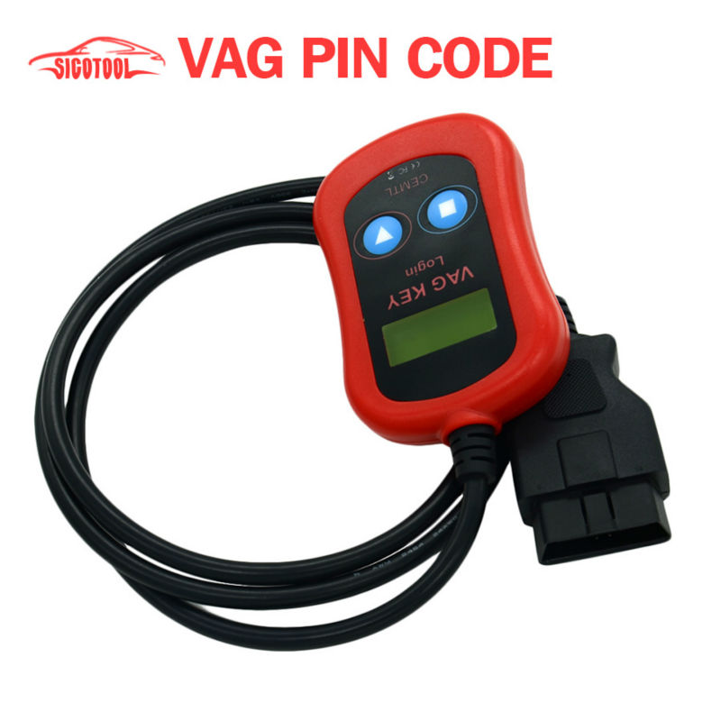 Prix pour Vente chaude 100% Garanti VAG Code PIN Lecteur/Dispositif de Programmeur principal via OBD2 livraison gratuite