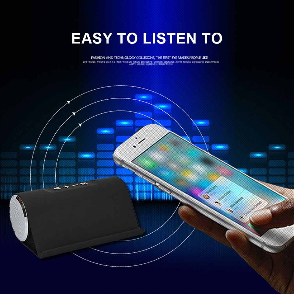 Portable Intelligent Wireless Bluetooth Speaker Stereo Subwoofer Mobile Phone Bracket Tf Card Multi Function Bluetooth Speaker Aliexpress
