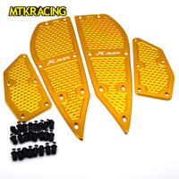 MTKRACING Brand New Motorcycle Footboard Step Autobike Foot Plate For YAMAHA XMAX250 XMAX 250 XMAX300 XMAX 300 2017 2018