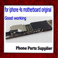 8gb Original & Unlocked for iphone 4s Motherboard with Chips,100% Good Working for iphone 4s Mainboard,Logic Board,Free Shipping