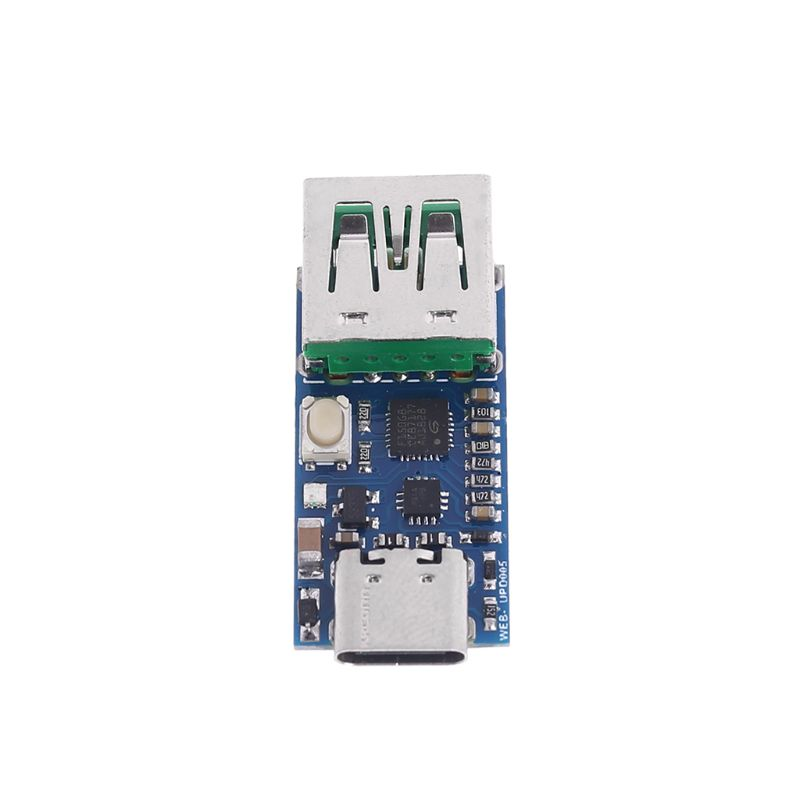 UPD005 PD To DC Spoofing Detection PD2.03.0 Fast Charge Trigger QC4 & Polling HID ProgrammingUPD005 PD To DC Spoofing Detection PD2.03.0 Fast Charge Trigger QC4 & Polling HID Programming