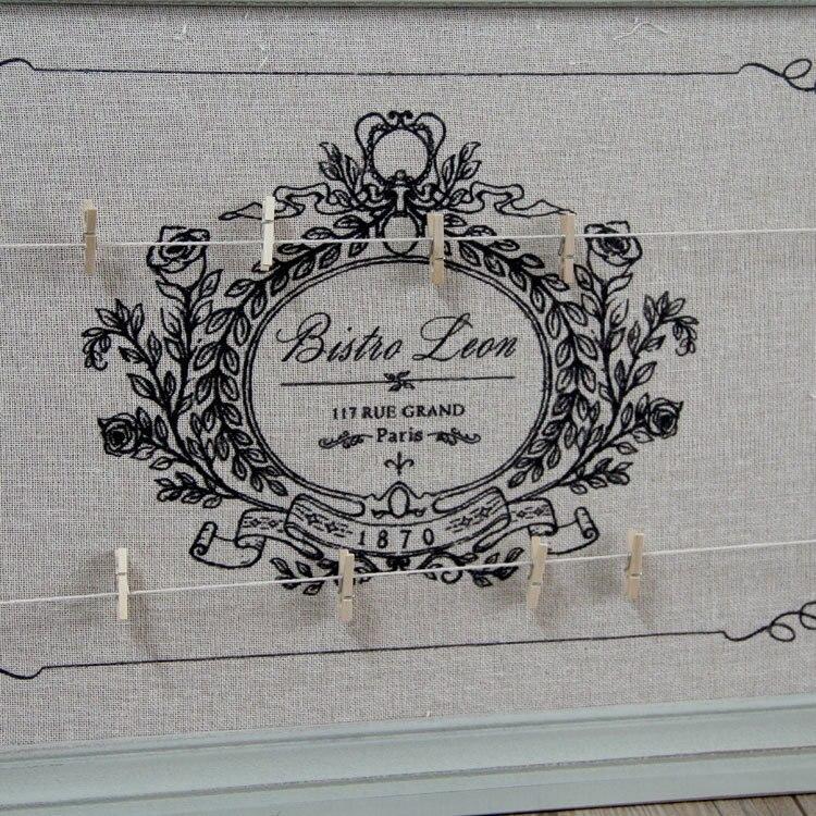 Zakka vintage rustikalen Clip Rahmen Bild Bilderrahmen Brieftasche ...