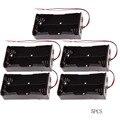 5 unids/lote Nuevo banco de Potencia 18650 Batería Soporte De Plástico Soporte de La Batería Caja de Almacenamiento para 2x18650