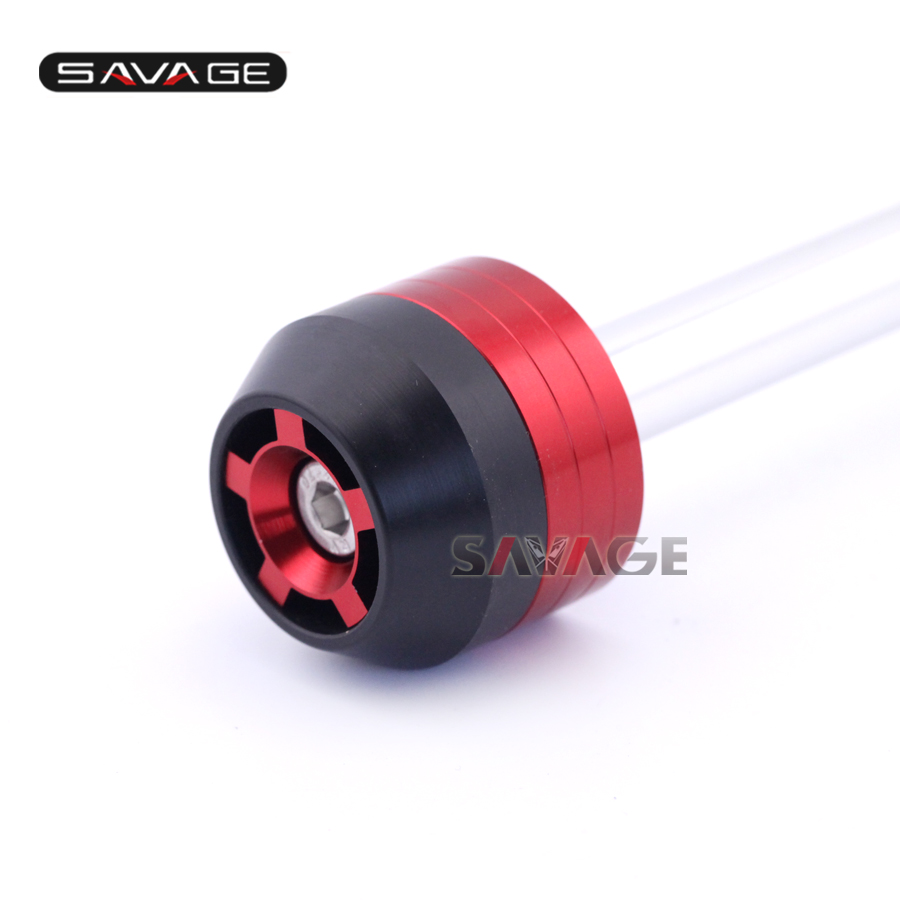 For DUCATI Multistrada 1200/S 10-15, MONSTER 1200/S 14-15 Motorcycle Front Axle Fork Wheel Protector Sliders Falling Protection