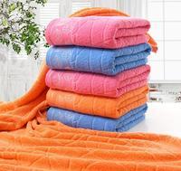 70 140 Pure Cotton Plain Maple Leaves Soft Towel Gift High Quality Luxury Bath Towel Set