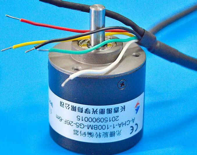 New Changchun Yu Heng Rotary Photoelectric Encoder A-CHA-1-100BM-G5-26F-6m rotary encoder ose104 second hand looks like new tested working