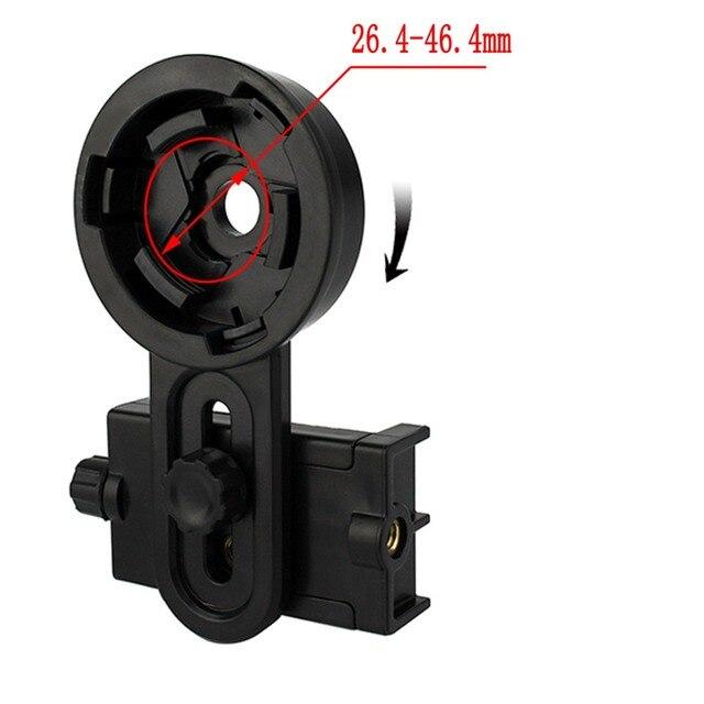 Best Universal Cell Phone Camera Bracket  Adapter Telescope Interface Adapter Mounts Telescope Accessories W2413A Fshow