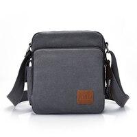 Fashion Canvas Messenger Bag Men Women Multi Functional Casual Men Shoulder Crossbody Bags Leisure Satchel Bag
