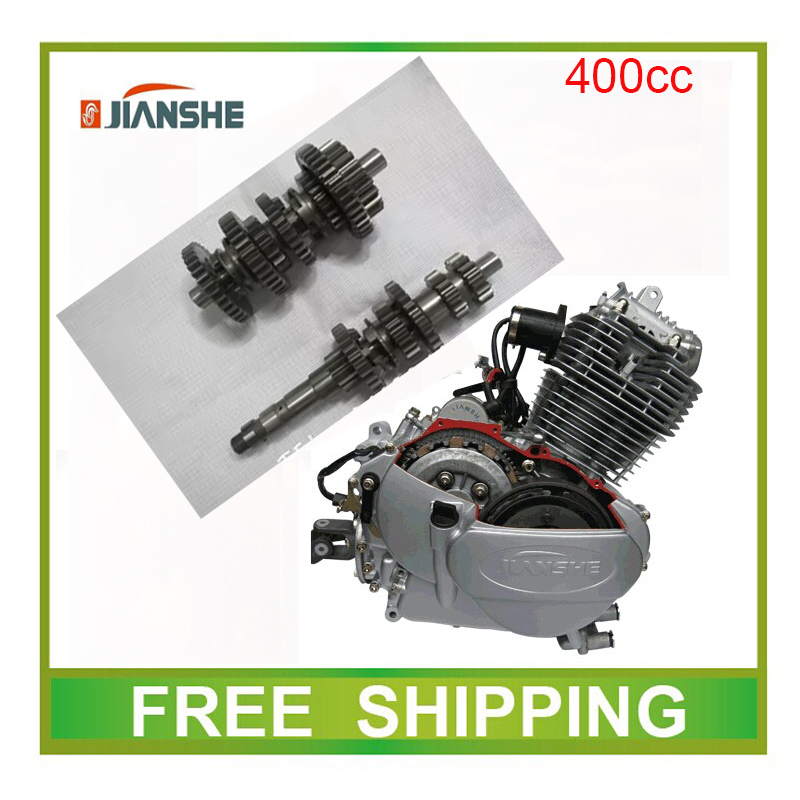 main countershaft gear JIANSHE LONCIN 400CC shaft gear engine atv quad accessories free shipping поршень loncin gn300