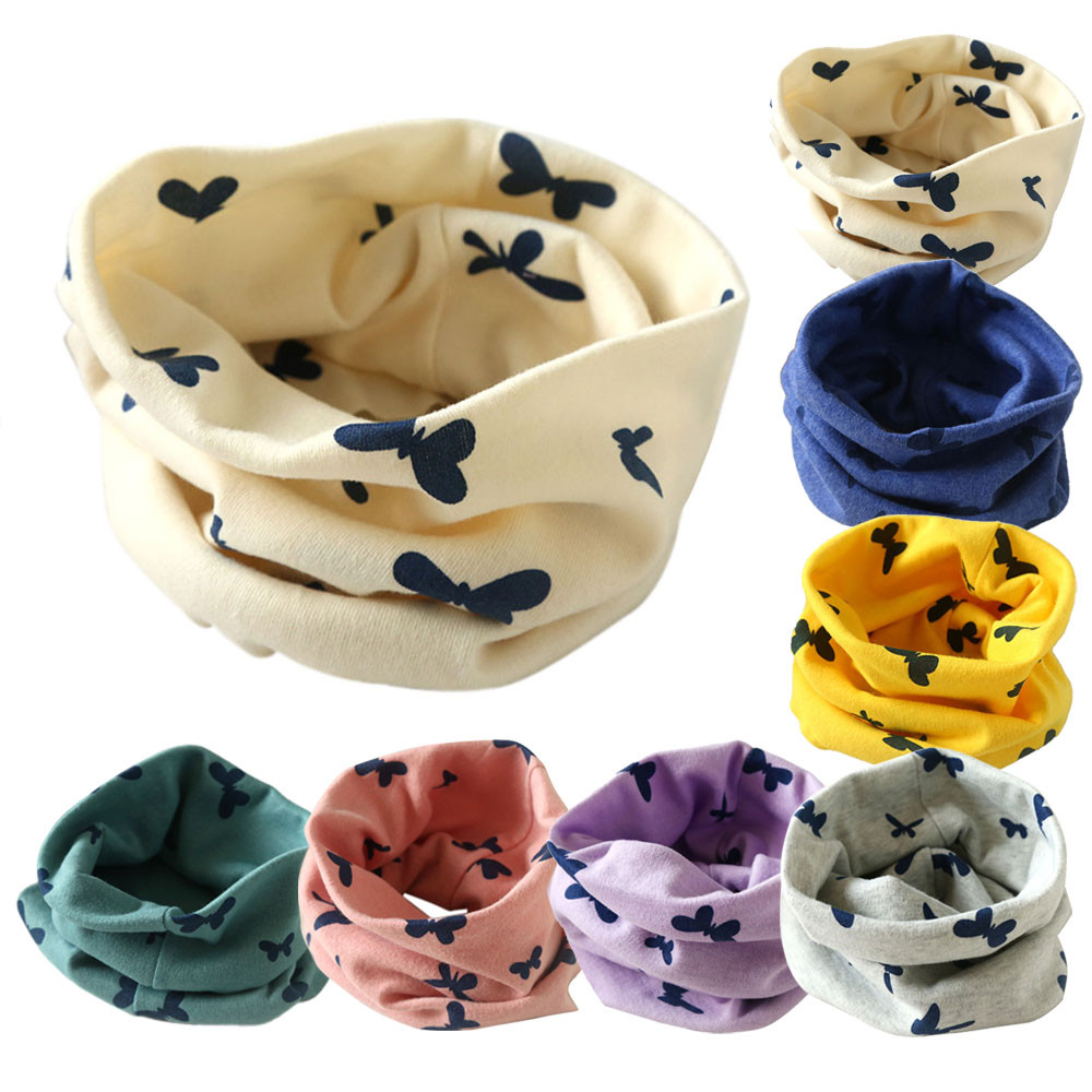 MUQGEW scarf Autumn baby bibs tissu enfant winter scarf babador Boys Girls Collar Baby Cotton O Ring Neck Scarves