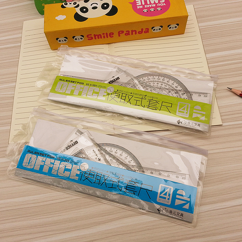 The Students Set Ruler A Variety Of Drawing Ruler Triangle Ruler 20CM Free Shipping