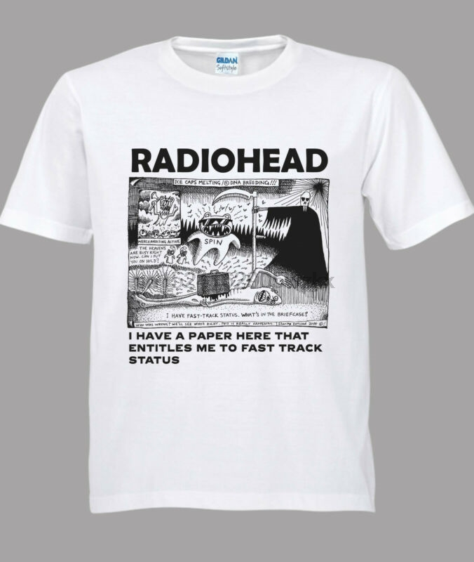 cd8101a7 Detail Feedback Questions about Radiohead North America Tour Concert Tshirt  White size S to 3XL on Aliexpress.com | alibaba group