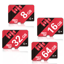 AEGO Micro SD карта 64Гб/8Гб/16Гб/32Гб высокая скорость 80 Мб/с UHS-1 Класс 10 600x флэш-карта для мобильного телефона камеры