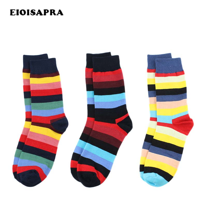 Armkin Colorful Harajuku Men Socks Korea Casual Cotton Novelty Socks Happy Funny Socks Sport Calcetines Skateboard Male Socks Underwear & Sleepwears