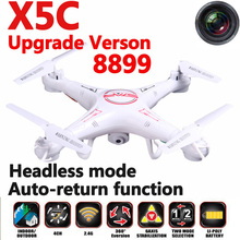 Free shipping  X5C Upgrade version 8899 remote control Quadrocopter Headless Mode 2.4G RC Drone helicopter with HD camera VS