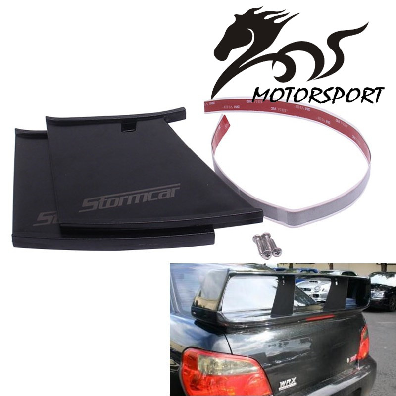 (1 Piece) STORMCAR Rear Wing Spoiler Support Stabilizer for Subaru STi 04-07