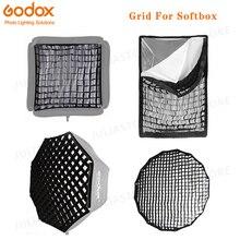 Rejilla de nido de abeja octogonal/rectangular para 40x40 50*50 60*60 80*80 50*70 60*90 80 95 120cm P90L P90H P120L P120H paraguas Softbox