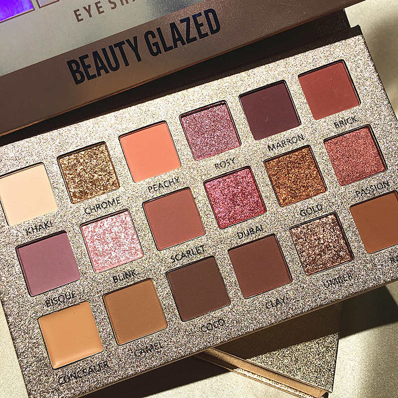 Cremated Makeup Palette