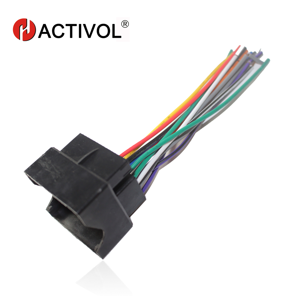 Car Radio Stereo Female Iso Plug Power Adapter Wiring Harness. Car Radio Stereo Female Iso Plug Power Adapter Wiring Harness Special For Ford Focus S. Wiring. Hang Wire Harness At Scoala.co