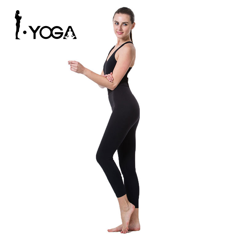 Horny Ladies Black Sports activities Yoga Rompers And Jumpsuit Health Operating Tight Swimsuit Pad Breathable Sportswear Fitness center Shirt Clothes Lt001