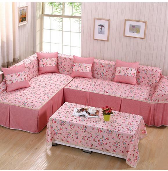Sofa cover full package everything set combination full cover cloth ...