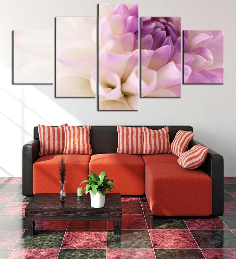 Online kopen wholesale paars wall art uit china paars wall art ...