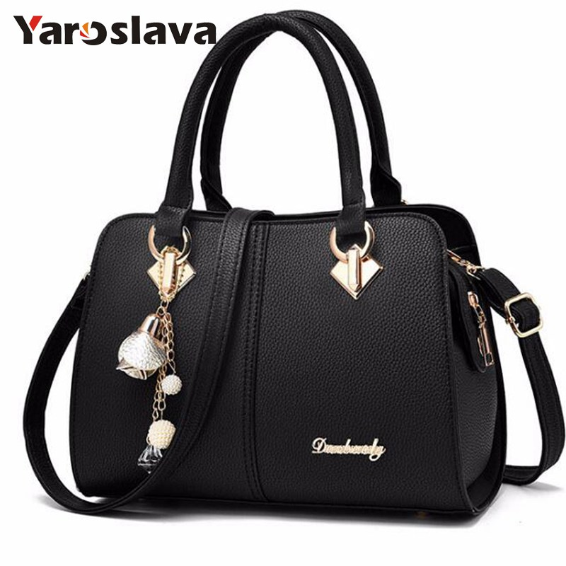 2018 New colors Women Leather Shoulder Bag Casual Tote Bags Fashion Famous Design Women Handbags Female Zipper Bag bolsas  LL493 luxury famous brand women female ladies casual bags leather hello kitty handbags shoulder tote bag bolsas femininas couro