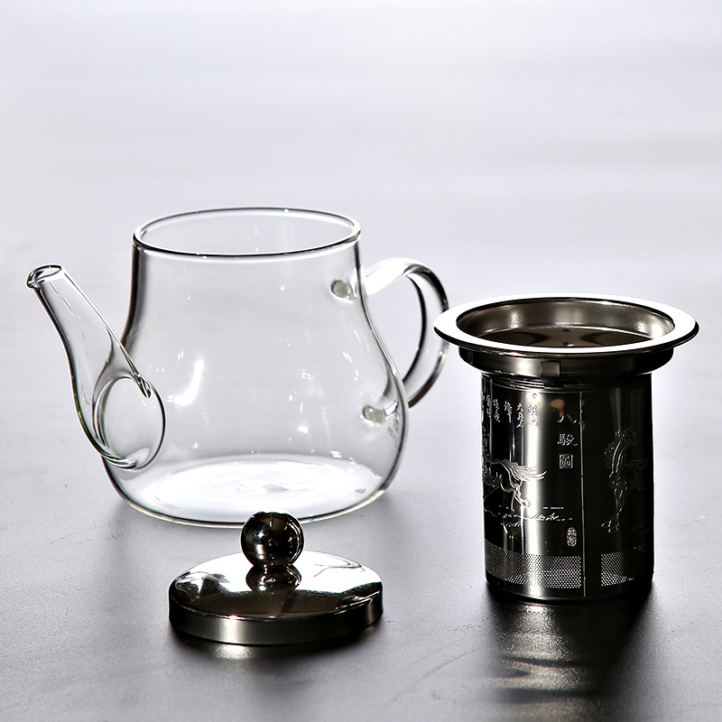 TANGPIN heat resistant glass teapot with infuser tea pot glass tea set in Teapots from Home Garden