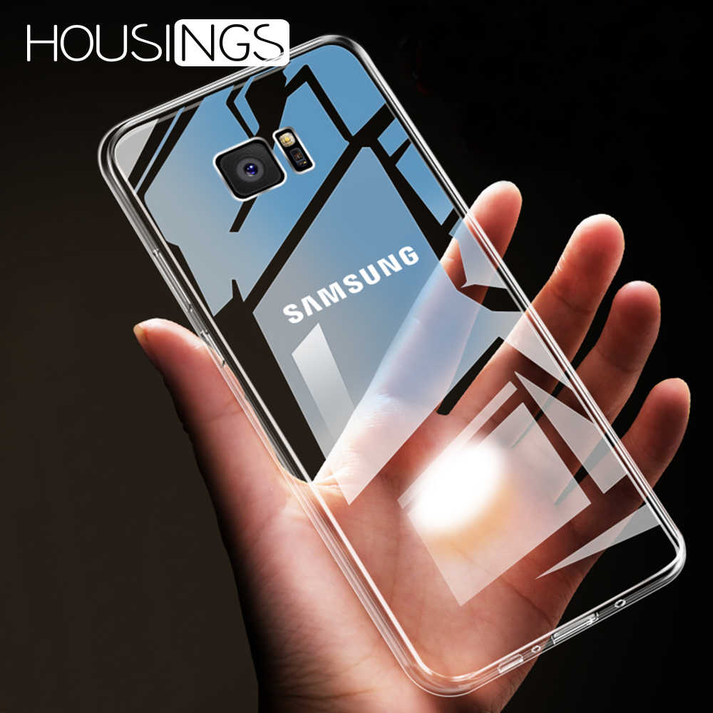 Ultra-dunne Transparante Siliconen Case Voor Samsung Galaxy S8 S9 S10 Plus TPU Shockproof TPU Cover Voor Samsung A20 a30 A40 A50 A60
