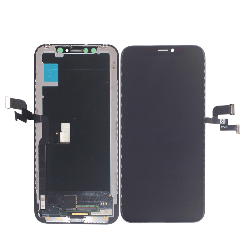 Image 2 - High Quality For iPhone X LCD XS XR LCD Display Amoled Flexible Rigid Hard For iPhone X XS XR Display Soft Screen LCD 3D Touch-in Mobile Phone LCD Screens from Cellphones & Telecommunications