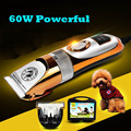 65 W Profesional Pet Dog Hair Trimmer Grooming Clippers Animal Gato Cortadores Máquina Afeitadora Clipper Tijera Podadora Eléctrica ZP-293