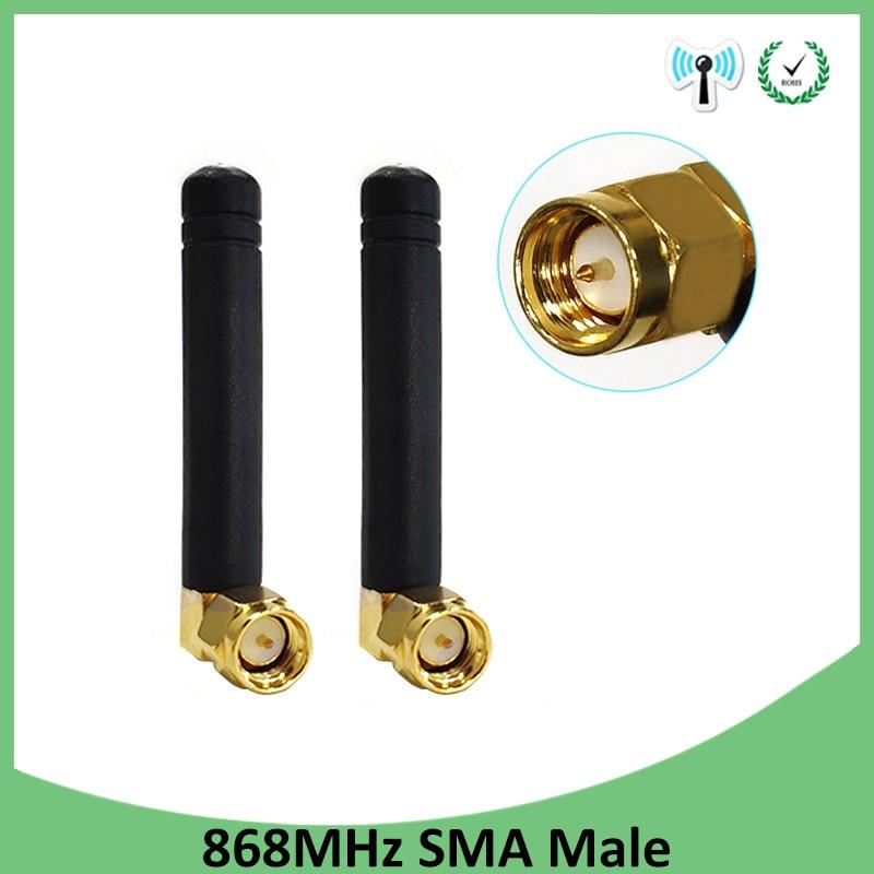 20pcs 868MHz 915MHz Antenna 3dbi SMA Male Connector GSM 915 MHz 868 MHz antena outdoor signal