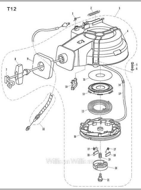 Free Shipping Parts For Parsun Outboard Motor 2 Stroke 12 Hp Startup