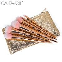 CALDWELL Makeup Brushes Set Rainbow Gradient Diamond Cosmetic Base Brush Foundation Eye Shadow Blush Powder Make