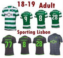 Top 2018 camisola 18 19 Lisboa Esportivo adulto camisetas camisa da equipe  de futebol 2019 dos d1c768853a409