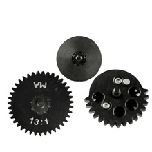 цена на High Quality New 13:1 CNC steel cutting Ultra-high Speed Gear Set for Ver.2 / 3 AEG Airsoft Gearbox Hunting Accessories