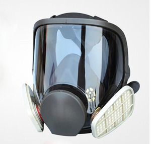 Image 4 - 9 In 1 Painting Spraying Safety Respirator Gas Mask same For 3M 6800 Gas Mask Full Face Facepiece Respirator