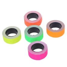 500 Pcs / 1 Roll Colorful Price Label Paper Tag Mark Sticker For MX-5500 Labeller Gun High Quality  Price Label все цены