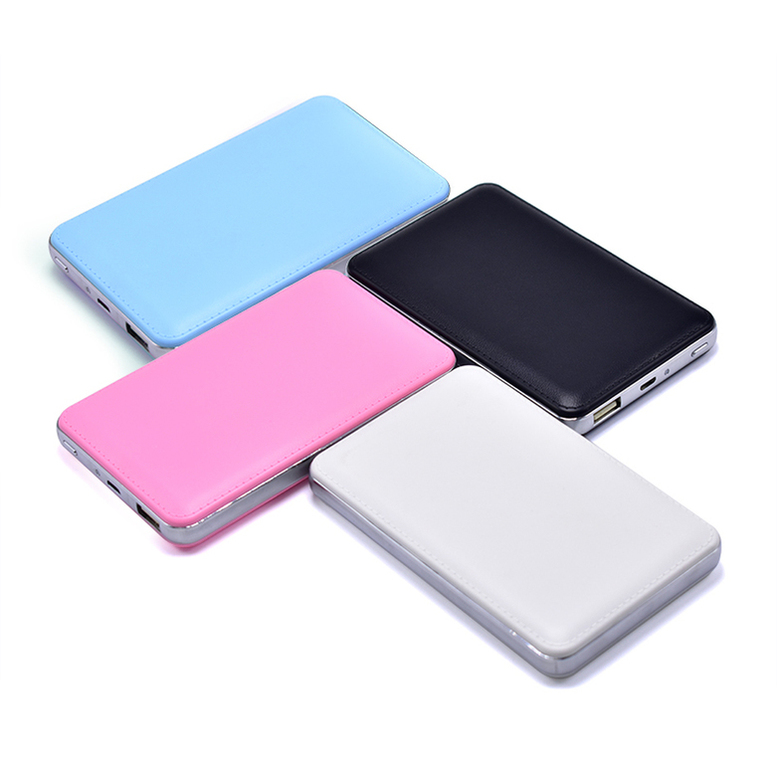 2018 New Arrivals power bank 20000mah Ultra thin Mobile Portable Battery Charger 18650 power bank for iPhone X 8 7 Samsung