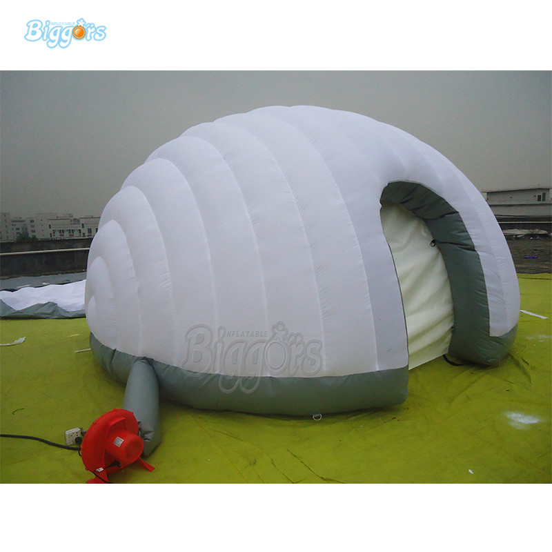 Outdoor Inflatable dome camping tent with blowers outdoor inflatable go karting race track with blowers