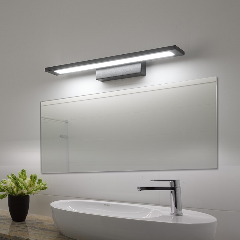 Us 77 0 30 Off Modern Simple Mirror Lights For Bathroom Fixtures Led Wall Lamps Lighting Makeup Barber Sconces In