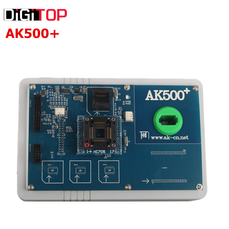 New Released  AK500+ Key Programmer For Mercedes Benz With EIS SKC Calculator include HDD Free Shipping