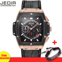 relogio JEDIR Hollow 3D Multi-Functional Men's Watch Pirate Series Chronograph Fashion Brand Men Watches Male Priority Shipping
