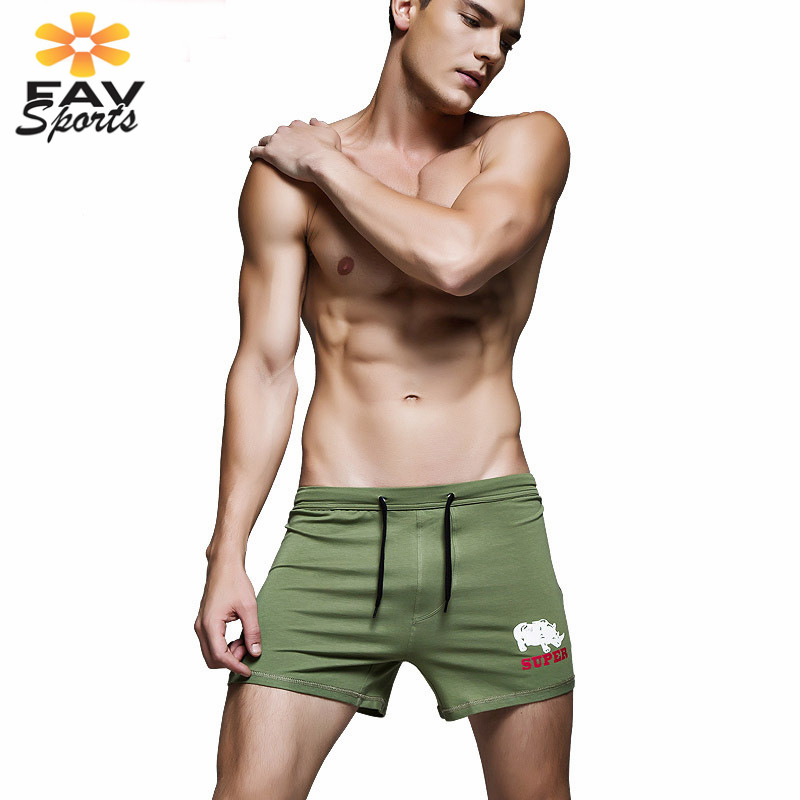 Favsports Mens Running Swimming Trunks Quick Dry Print Surf   Board     Shorts   Summer Beach Pants Elastic Bathingsuit Bermuda   Shorts