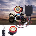 New Motorcycle Alarm System Anti-theft Security Alarm System Remote Control Engine Start with CR2032 Battery