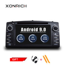 Autoradio 2 din android 9.0 Car Multimedia Player For Toyota Corolla E120 BYD F3 Stereo GPS DVD Head Unit Navigation Wifi OBD