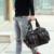 Nueva Alta Calidad de Los Hombres de Viaje Bolsas Sólido Cremallera Hombres Bolsa de Viaje Bolsa de Lona Bolsa de Gran Capacidad de Equipaje de Mano